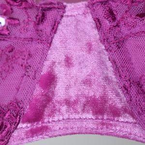 Cacique Intimates & Sleepwear - Cacique Purple Violet Velvet Straps Sz 40D